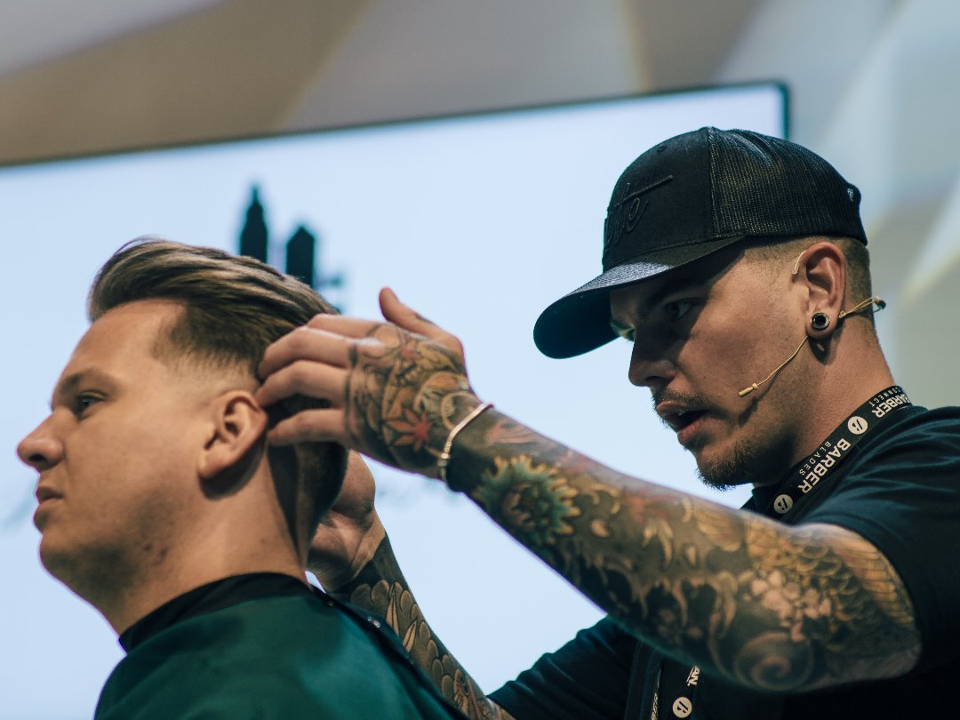 Rume Barbers at Connect 2018