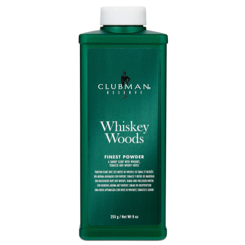 Clubman Pinaud Reserve Whiskey Woods Finest Powder – 255g